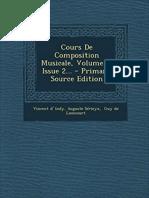 Cours de Composition Musicale Vol.2