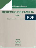 Derecho de Familia Tomo i - Rene Ramos Pazos 2010