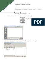 Integracion Numerica Con Matlab