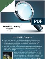 Scientific Inquiry 8th