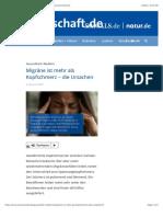 Migräne ist mehr als Kopfschmerz – die Ursachen - wissenschaft.de