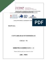 Manual Contabilidad Intermedia II - - i - II