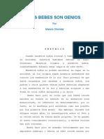 069_LOS BEBES SON GENIOS- PEDAGGOGIA 3000