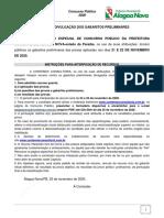 gabaritos_preliminares Alagoa Nova