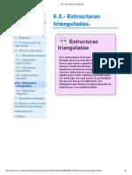 6.5.- Estructuras trianguladas_