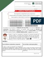 8 Ano - Língua Portuguesa Apostila 2- Hífen