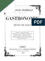 Monselet Gastronomie Ocr