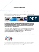 Ramos-Luz-La Comunicación y la Tecnología