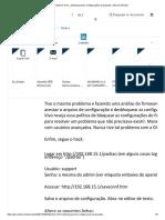 Modem VIVO _desbloqueando Configurações Avançadas _ Internet _ Redes