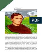 Lesson 1_Rizal as Propagandist