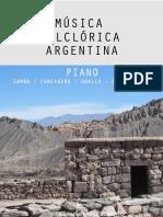 Música Folclórica Argentina para PIANO