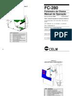 Celm FC 280 - Manual de Operação