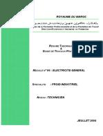 M 06_TFI_Electricite de base