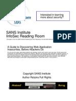 SANS-Search Web Apps