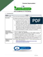 FINANZAS EMPRESARIALES - Producto Académico N.º 03 (Tarea)