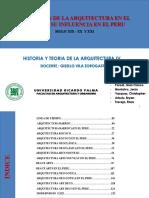 Evolucion de La Historia de La Arquitectura en El Peru