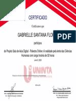 A Realidade Pela Lente Das Ciências Humanas_Certificado