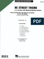 04 Sesame Street Theme _ Raposo J. _ A12TB&Bass.drums.pf