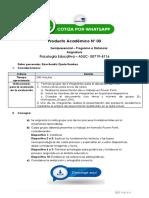 Psicología Educativa - Producto Académico N° 03