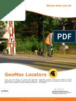 GeoMax Cable Locators Brochure