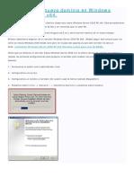 Como crear un nuevo dominio en Windows Server 2008 R2 x64