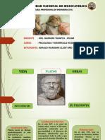 DIAPOSITIAVA DE LA BIOGRAFIA DE PLATON