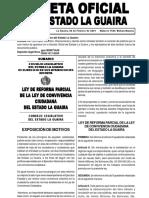 GACETA OFICIAL DEL ESTADO LA GUAIRA