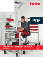 The Ergonomic Work Bench System