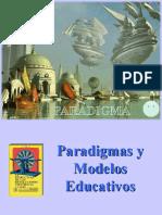 2. Paradigmas y Modelos Educativos