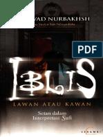 Iblis Lawan Atau Kawan - Setan Dalam Interpretasi Sufi