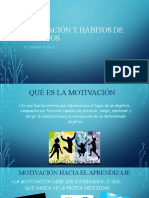 MOTIVACIÓN Y HÁBITOS DE ESTUDIOS