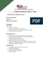 CONTENIDOS DADOS POLITECNICO PEDRO CORTO