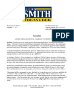 LUCIEN SMITH PRESS RELEASE