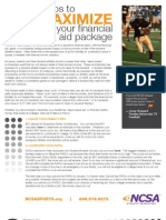 8 Steps to Maximize Your Financial Aid Package