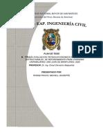 PROYECTO TESIS - EVALUACION TECNICA ECONOMICA DE SISTEMAS ESTRUCTURALES DE REFORZAMIENTO PARA VIVIENDAS UNIFAMILIARES, SAN JUAN DE MIRAFLORES