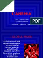 Anemia - lezione 22-10-07