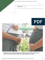 Embarazos Adolescentes_ Urge Fomentar La Prevención en Todo El País - Telefe Noticias