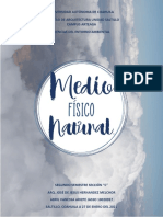 MEDIO FISICO NATURAL.