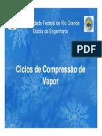 Cap. 2 - Ciclo de Compressão de Vapor v3