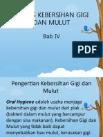 4. PEMERIKSAAN KEBERSIHAN GIGI & MULUT_ DI, CI, OHI-S, HI PI, PHP, PHPM