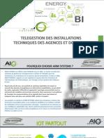 Telegestion des installations technique des agences et domiciles