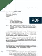 Carta de Fiorella Molinelli, presidenta de EsSalud