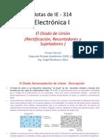 El Diodo_ Rectificación_ Recortadores y Sujetadores IE-314