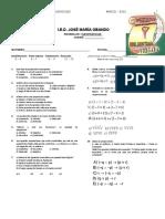 Evaluación de Proposiciones Sexto