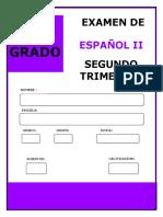2° ESPAÑOL 2T