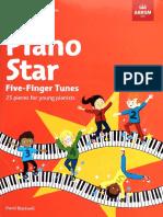 Piano Start five-finger tunes