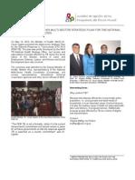 FONDO MUNDIAL - Ministry of Health Strategic Plan