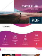 EVENT PLAN PPT Templates