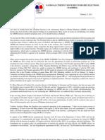 Namfrel E-Newsletter Vol 1 Issue 63 022111