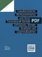 CEP-Studie_Gewaltorientierter Rechtsextremismus Und Terrorismus_Nov 2020